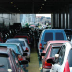 Multiple cars in traffic crash accident