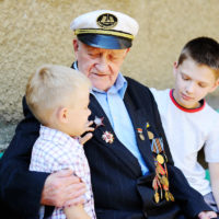 Veteran with children